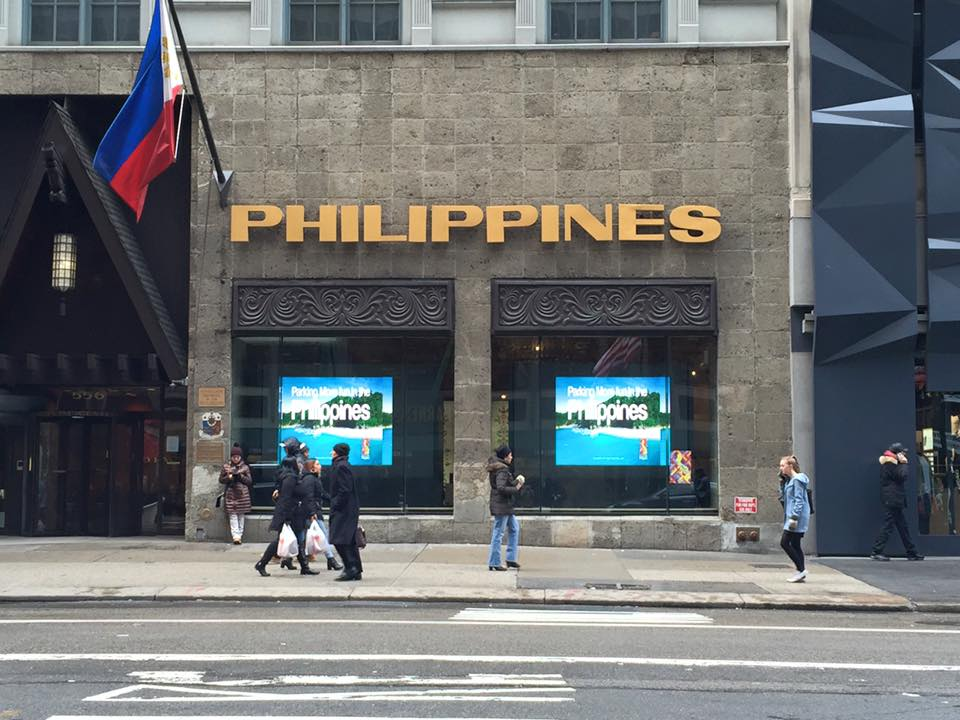 The Philippines Launches 'Department of Tourism' Window Display in New York City at Philippine Center