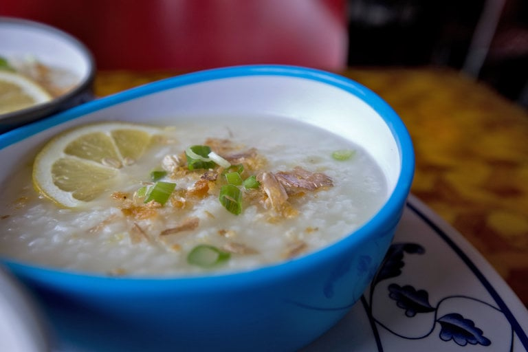 Lugaw, a Filipino Porridge, With a Chicago Accent