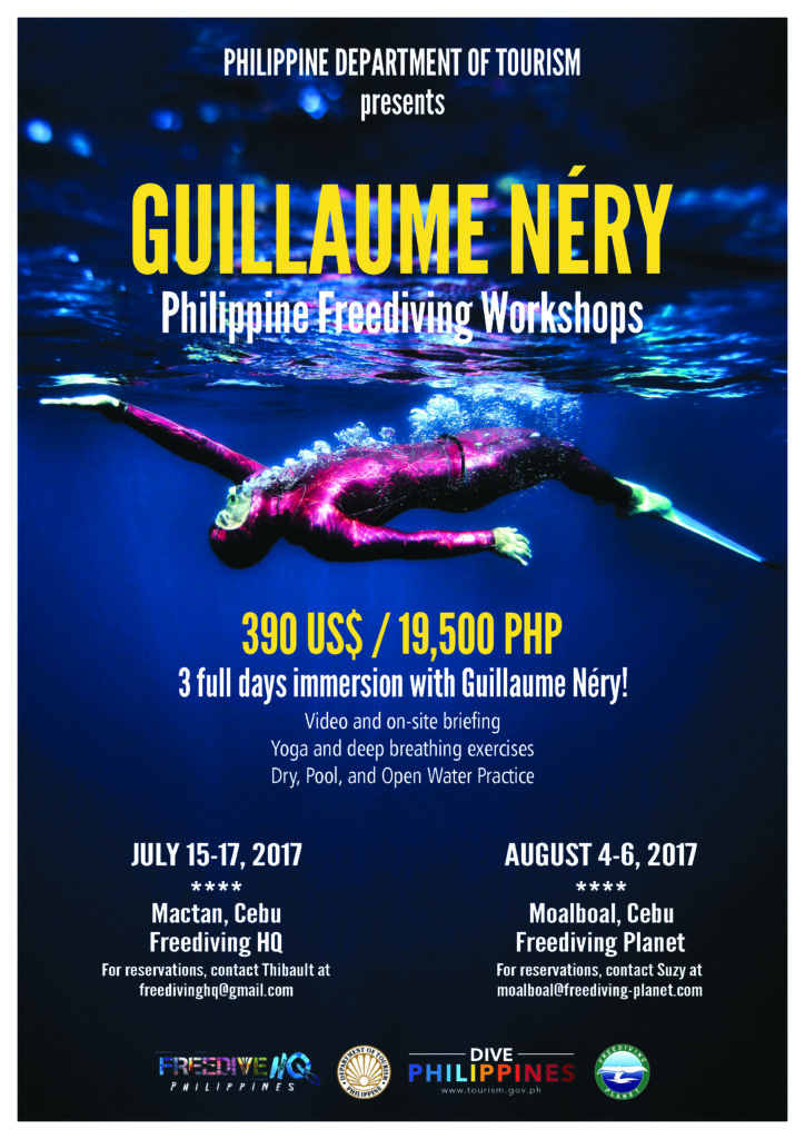 Guillaume Nery Main Poster A4 size