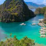 Islands in Palawan, Philippines