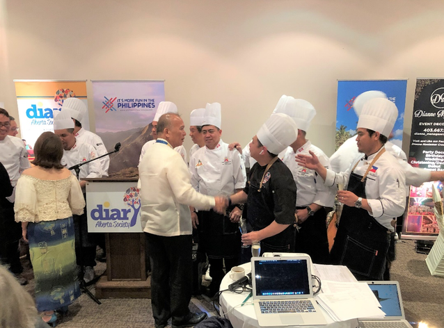 PCG Calgary Supports  Philippine Cuisine Festival Gala