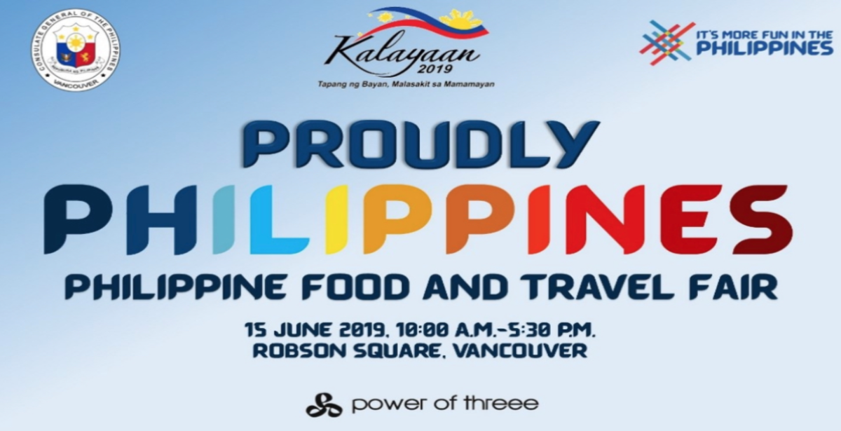 """Proudly Philippines"" Brings a Taste of Filipino Cuisine and a Glimpse of Philippine Travel Destinations to Vancouver"