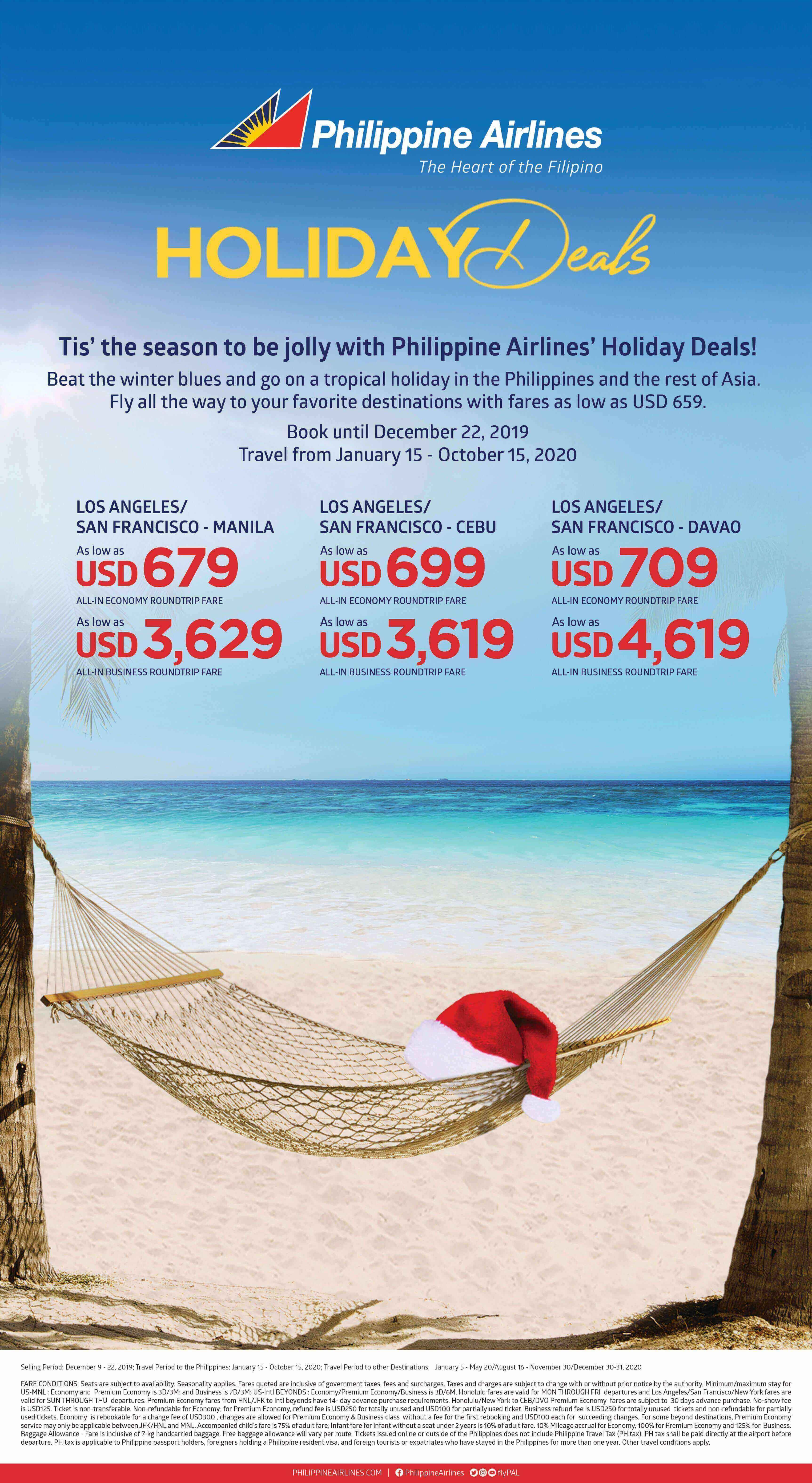 Philippine Airlines Holiday Deals Philippines Tourism Usa