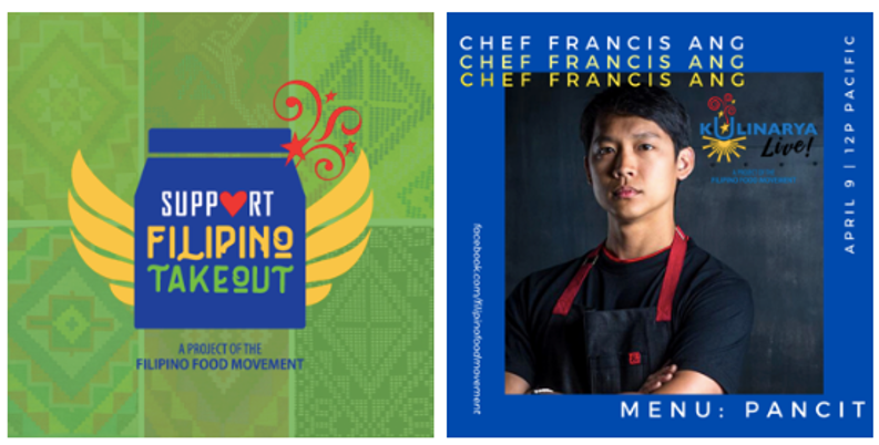 Filipino Food Movement launches an online campaign, supporting Filipino chefs and restaurants