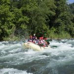 River rafting in the Philippines